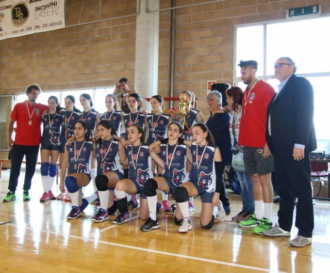 Volley Club Frascati, l'Under 13 di coach Mineo è arrivata a un passo dal titolo regionale