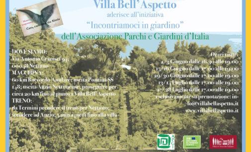 La famiglia Borghese apre Villa Bell'Aspetto a Nettuno