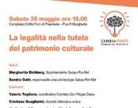 """Palestrina – Conferenza  """"La legalità nella tutela del patrimonio culturale"""""""