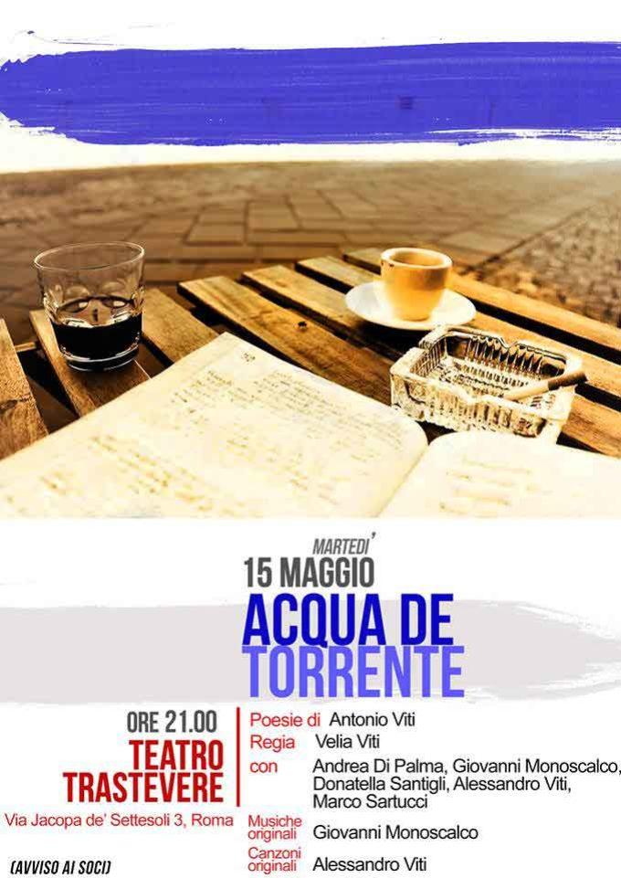 Teatro Trastevere – Acqua de torrente