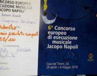 VI Concorso europeo di esecuzione musicale J.Napoli: 1° posto per gli alunni della scuola di San Cesareo
