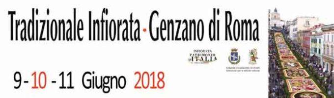 240′ Infiorata di Genzano di Roma: 9,10 e 11 Giugno 2018