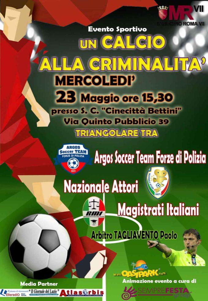 Diamo un Calcio alla Criminalità