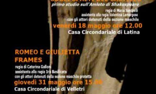 Al Carcere di Latina e di Velletri progetto SENZAPORTE Officine di Teatro sociale RL