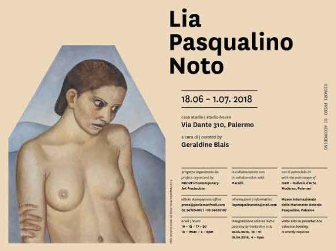 SIGNORI PREGO SI ACCOMODINO a Palermo con la mostra Lia Pasqualino Noto
