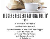 """A Colleferro si chiude """"Leggere leggeri all'ora del tè"""" 2018"""