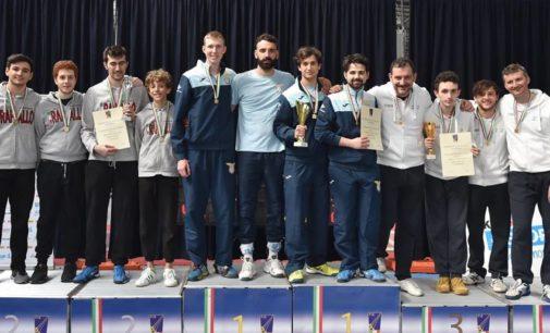 Lazio Scherma: titolo serie c per la squadra di spada maschile