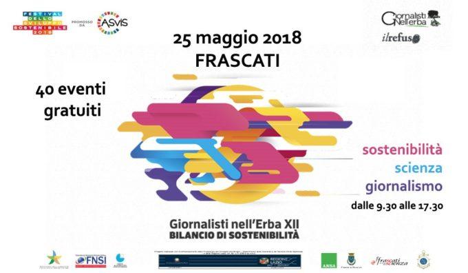 A Frascati #GNE 2018: Sostenibilità, scienza, giornalismo