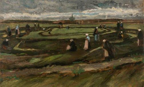Dopo 8 anni al Van Gogh Museum UN PAESAGGIO  DI VAN GOGH ALL'ASTA A PARIGI