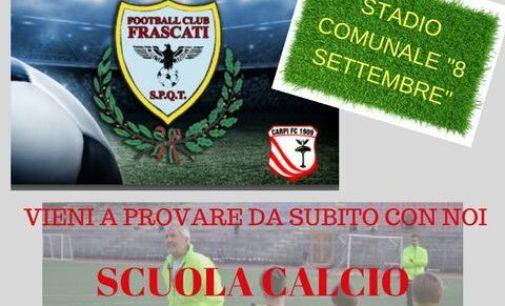 Football Club Frascati (Scuola calcio), Marcelli: «Ottimi riscontri per l'iniziativa della prova gratis»