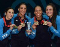 Frascati Scherma, medaglie europee a squadre: Errigo e Mancini oro, Garozzo d'argento