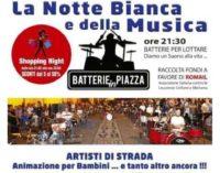 """Lariano – """"BATTERIE IN PIAZZA CON LA NOTTE BIANCA DELLA MUSICA"""""""