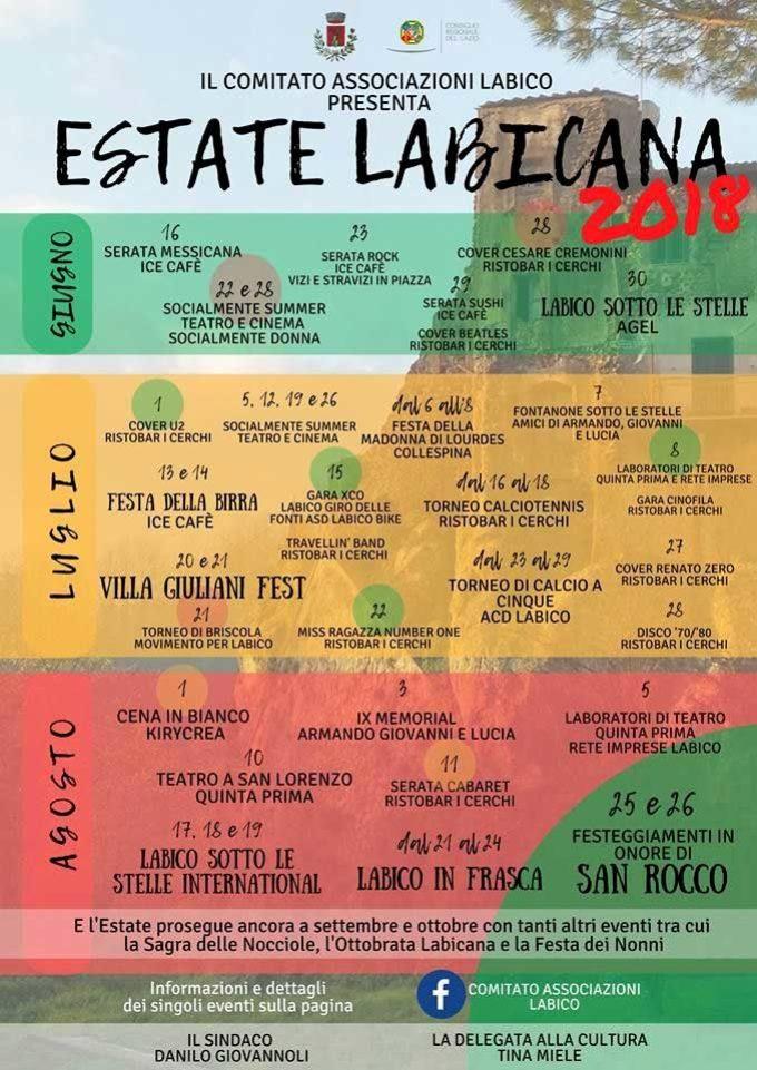 Torna l'Estate Labicana, alla sua II edizione!