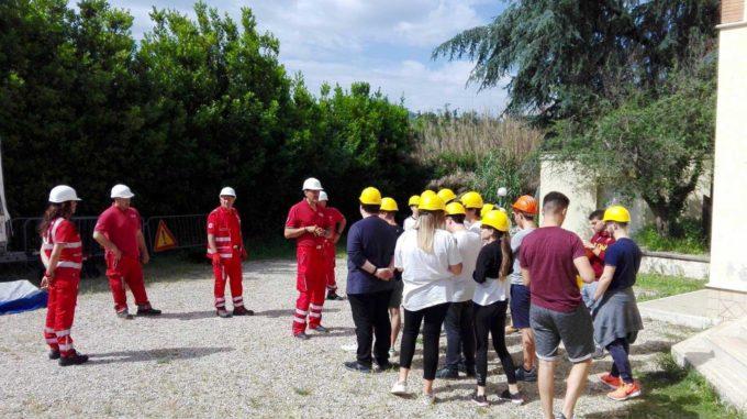 La settimana esaltante dei ragazzi di Villa Sora con gli esperti della Croce Rossa