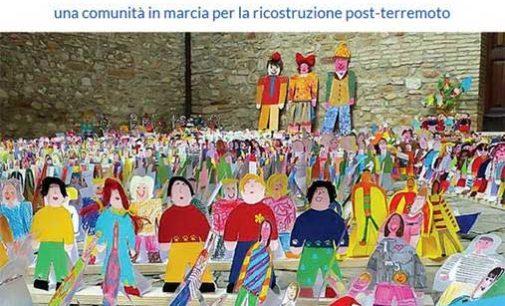 Marcia virtuale pacifica per la ricostruzione dell'agrinido/centro Agri-infanzia di San Ginesio