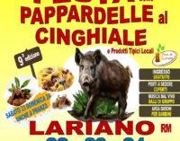 Lariano – 9° edizione della Festa delle Pappardelle al Cinghiale