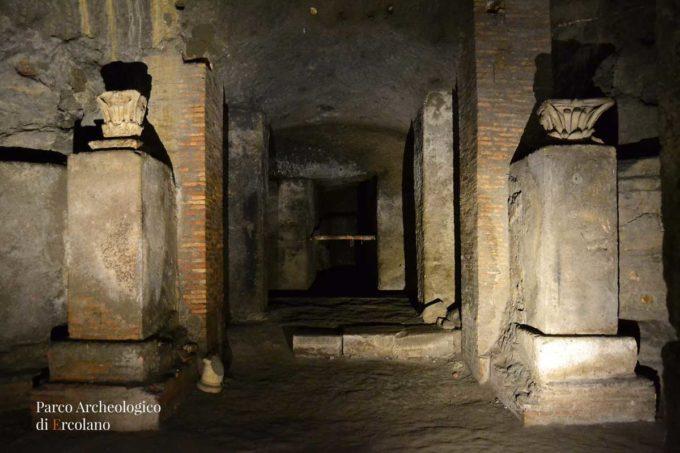 Al Parco Archeologico di Ercolano è scoppiata l'estate