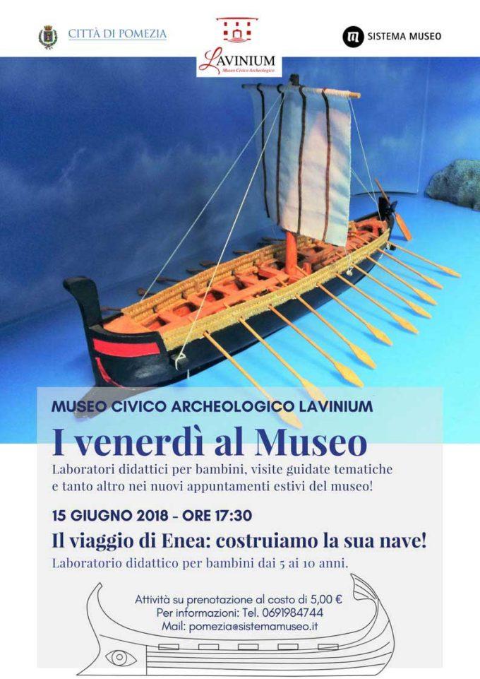 """""""Venerdì al Museo Lavinium"""""""
