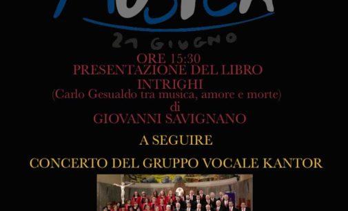 Festa Europea della Musica – Concerto del Gruppo Vocale Kantor