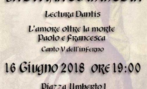 A Nemi Aldo Onorati racconta Dante in una lettura del canto V dell'Inferno
