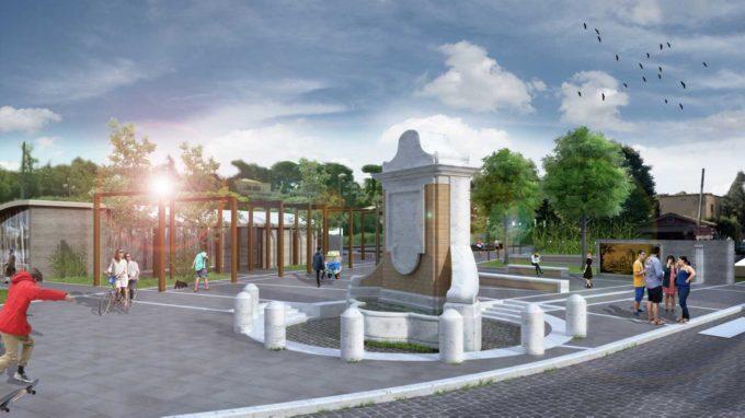 Frascati, pronta la revisione del progetto di riqualificazione di Piazza Vanvitelli