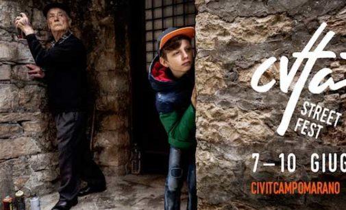 CVTÀ STREET FEST III edizione 7 – 10 giugno 2018 Civitacampomarano (CB)