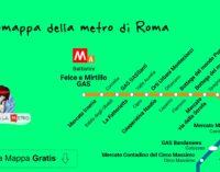 Giulia sotto la metro per Roma sostenibile
