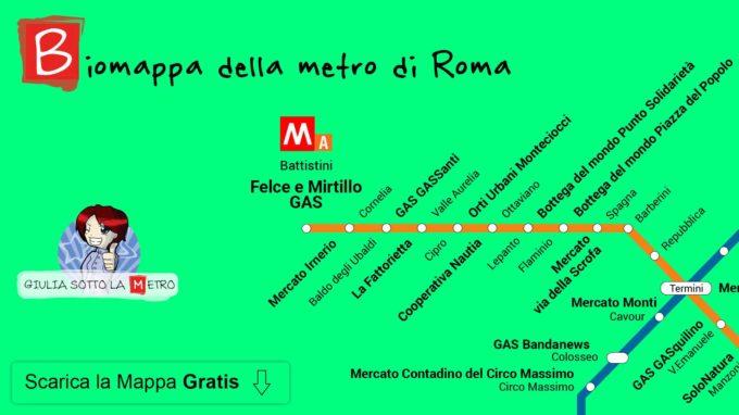 Risultati immagini per Giulia sotto la metro per Roma sostenibile