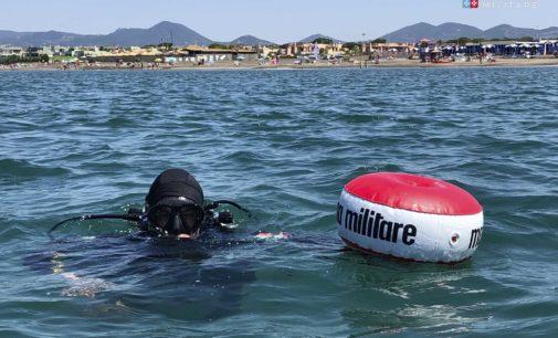 Marina Militare: I Palombari del Comsubin Intervengono a Campo di Mare (Rm) per neutralizzare un ordigno esplosivo