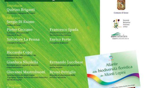 Presentazione Atlante della Biodiversità floristica dei Monti Lepini