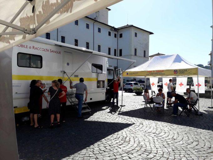 Il Comitato dei Comuni dell'Appia della Croce Rossa Italiana ha organizzato una raccolta di sangue