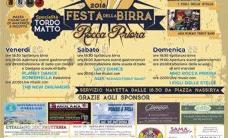 Rocca Priora -FESTA DELLA BIRRA – in piazza Zanardelli