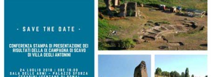 IX campagna di scavo della  Villa degli Antonini a Genzano di Roma