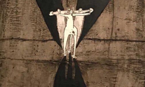"""Il """"segno"""" di Serge Uberti alla Biennale d'Arte Contemporanea di Viterbo"""