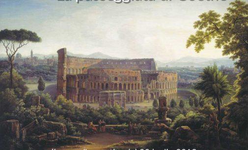 """""""Tramonto sul Palatino. La passeggiata di Goethe"""""""