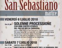 Festa di San Sebastiano Martire, riparte l'estate carpinetana