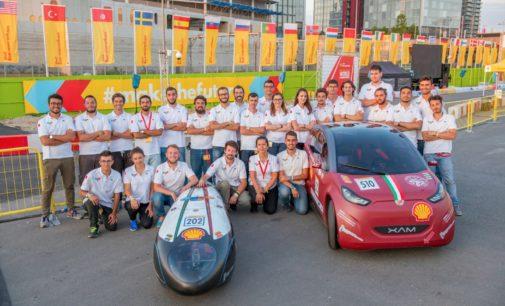Il team studentesco del Politecnico di Torino al 2° posto