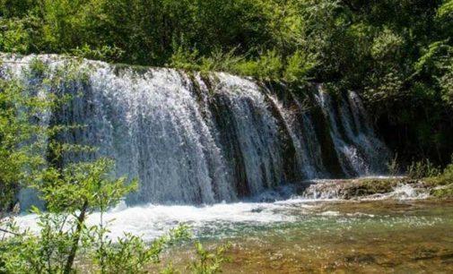 Le idilliache cascate del fiume Rio