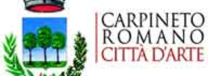 """Carpineto – """"A Cena dal Cardinale"""" apre la XXVI° Edizione  del Pallio della Carriera"""