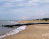 Anzio, Cavallo Morto: tubi a vista e scarichi a mare