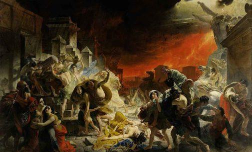 L'eruzione del 79 d.C. via social
