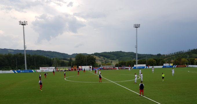 Il Trastevere tiene testa alla Sambenedettese, 1-1 nel match amichevole ad Amatrice