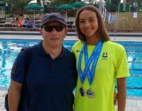 Tc New Country Club Frascati (nuoto), la Furfaro decima sui 50 dorso ai campionati italiani