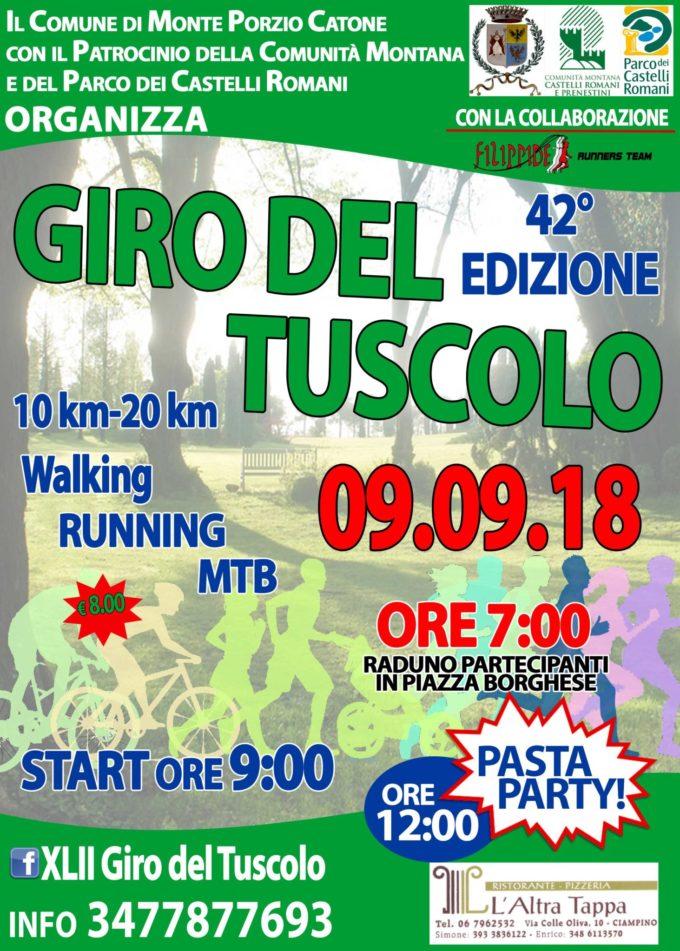 Monte Porzio – Benvenuti al XLII Giro Del Tuscolo!