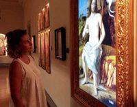 Save the Artistic Heritage presenta la riproduzione digitale di  Cristo risortodi Marco Basaiti