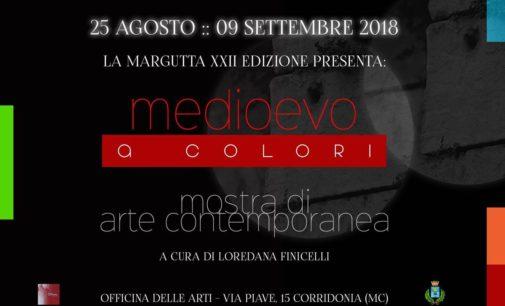 ARTE: TUTTI I COLORI DEL MEDIOEVO IN MOSTRA A CORRIDONIA (MC)-Sabato 25 agosto.