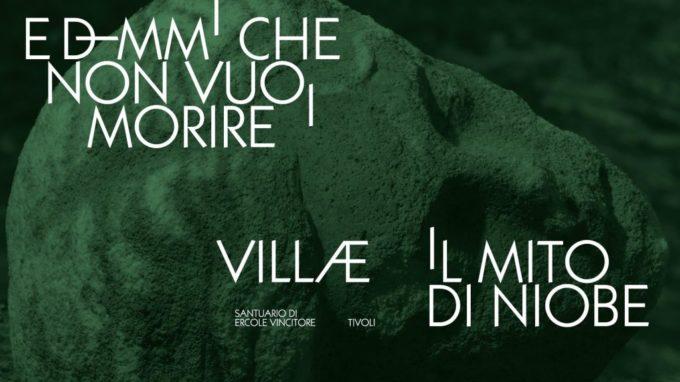 """A Tivoli """"E dimmi che non vuoi morire: il mito di Niobe"""""""