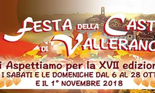 LA FESTA DELLA CASTAGNA DI VALLERANO