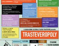 """Teatro Trastevere: Stagione Teatro Trastevere dei Piccoli """"TRASTEVEROPOLY"""""""
