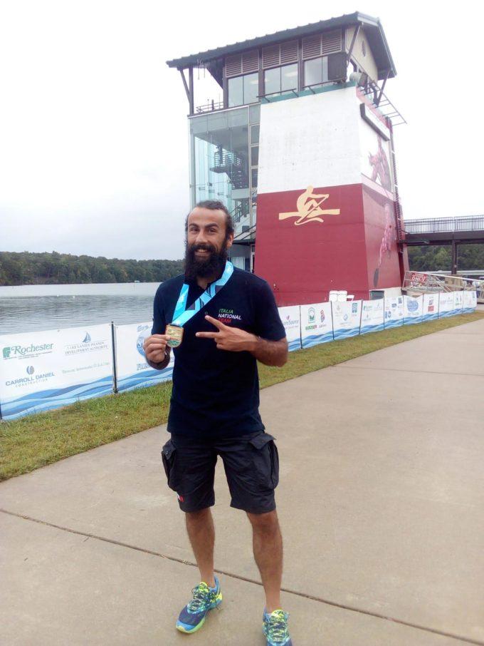 Albano Laziale presente ai mondiali di Dragon Boat con le medaglie di Angelini e Diano